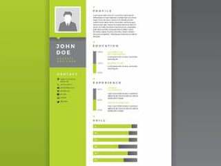 平面设计师恢复绿色矢量