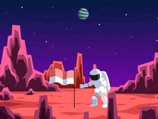 印度尼西亚宇航员探索火星载体