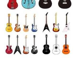 各种吉他造型