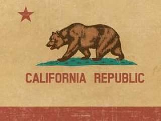 加利福尼亚的垃圾标志