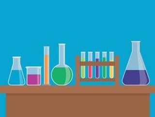 化学烧瓶集合