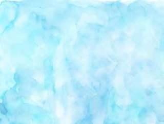 水彩纹理淡蓝色