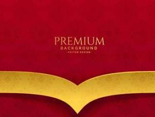 优质红色和金色背景设计