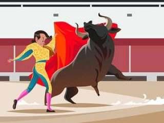 公牛战斗机传染媒介