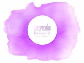 紫色水彩污渍纹理背景