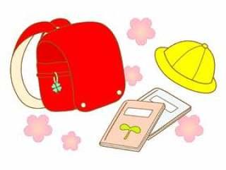 红色的书包