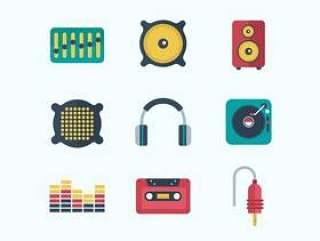 音乐音频图标