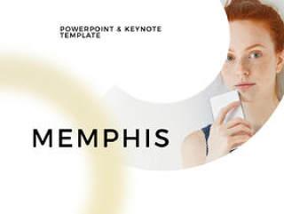 100个独特的Keynote和Powerpoint模板,孟菲斯