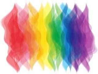 九色彩虹彩虹彩色渐变图片