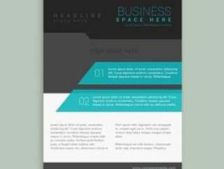 抽象公司品牌宣传册模板设计