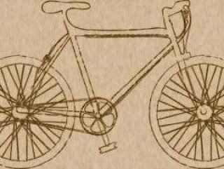 粗糙的自行车1复古