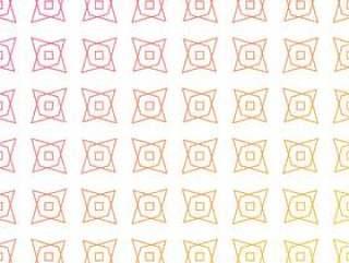 多彩的几何形状图案背景。抽象的图案