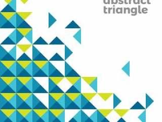 抽象三角形简单的背景