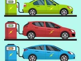 电动汽车矢量集合