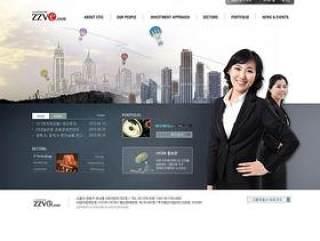 企业网页模板PSD分层(820)