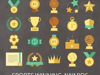 20款体育类奖牌奖杯设计