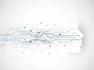 网络技术概念设计与数字的脸和网络迪