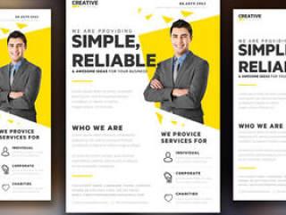 创意营销传单模板