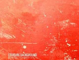 红色垃圾纹理背景