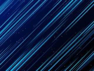 抽象技术蓝色激光影响在黑暗的背景。