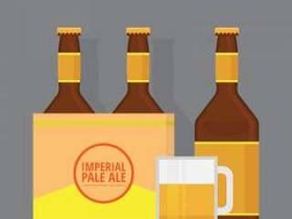 帝国的淡啤酒啤酒插图
