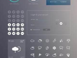 一组最新的iOS7风格UI组件