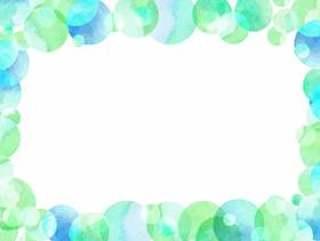 水彩通行证材料014水蓬松的框架