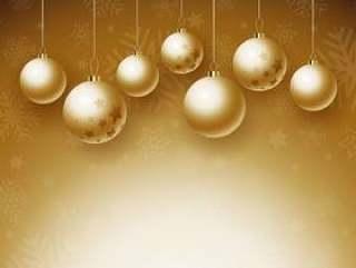 圣诞小玩意背景