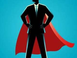 作为超级英雄的商人