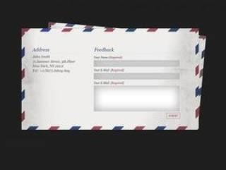 信封——psd分层素材