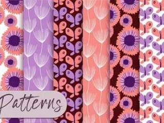 淡色紫色样式集合
