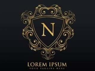 字母N标志设计与蓬勃发展的装饰