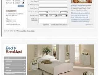 网页设计—家居类psd分层素材