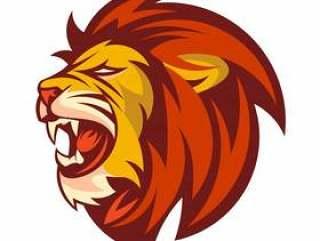 A Lion head logo