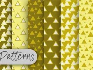 三角橄榄样式集合