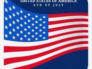 美国独立日7月4日