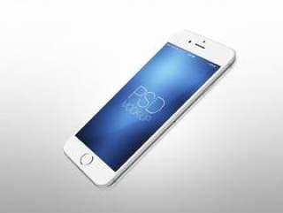 Iphone 6 白苹果手机高清展示模型素材