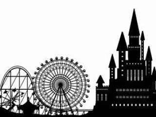 城堡和游乐园