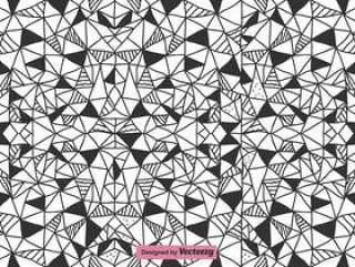 抽象三角形矢量模式