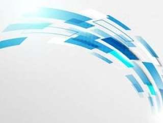 曲线行动技术数字式高科技概念背景