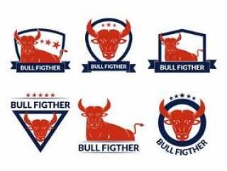 公牛战斗徽章