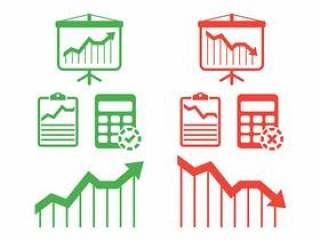 收入设置矢量图标