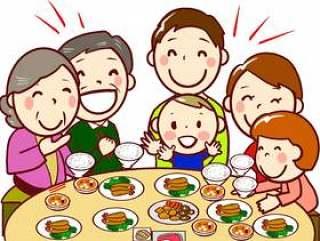 chacha家庭家庭15餐桌