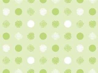 图案79无尽的波尔卡圆点绿色