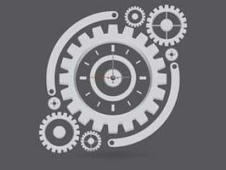 齿轮手表零件插图