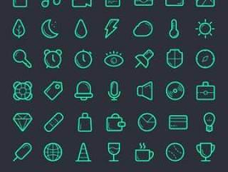 Free Icon Set(PSD、AI、SVG、Web Font)