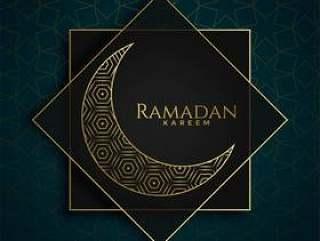 伊斯兰斋月贾巴尔优质设计与创意月亮