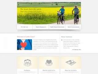 国外公益网站PSD素材