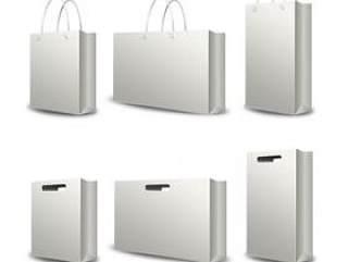 购物袋手提袋——psd分层素材