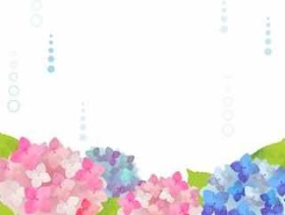 水彩般的紫色背景图